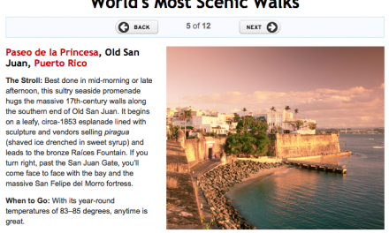 Paseo La Princesa in Old San Juan – One of the World's Most Scenic Walks