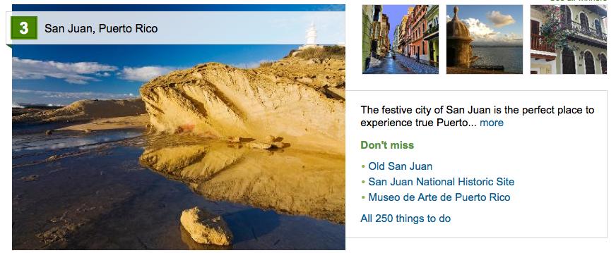 San Juan – 2014 Traveler's Choice – Best Caribbean Destinations