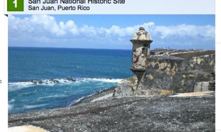 San Juan National Historic Site – #1 – Top Ten Attractions / Landmarks in the Caribbean 2014