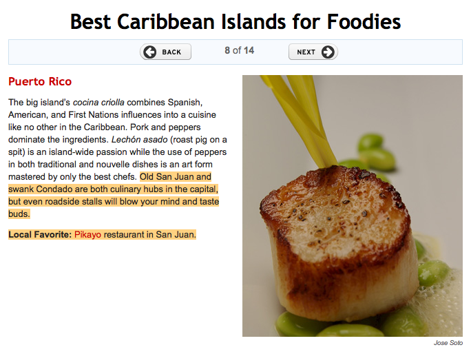 San Juan – Best Caribbean Islands for Foodies – Travel & Leisure