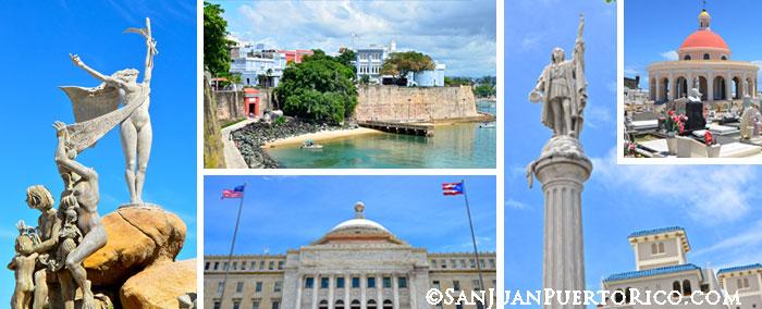 Landmarks & Monuments in San Juan, Puerto Rico
