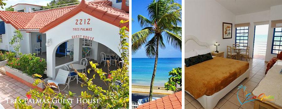 Tres Palmas Guesthouse - A beachfront guesthouse in Ocean Park, San Juan, Puerto Rico