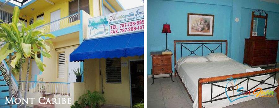 Mont Caribe - Budget Small Inn - Ocean Park, San Juan, PR