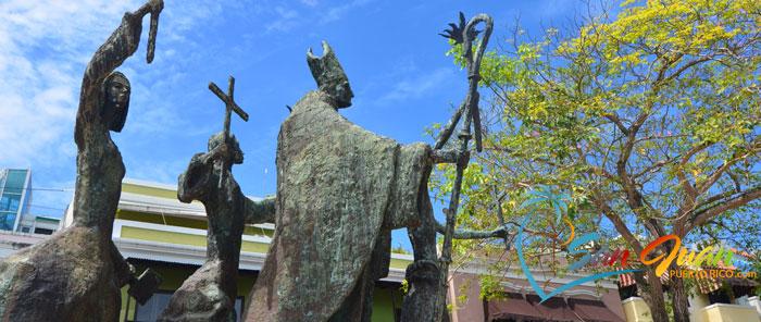 La Rogativa Sculpture - Old San Juan, Puerto Rico