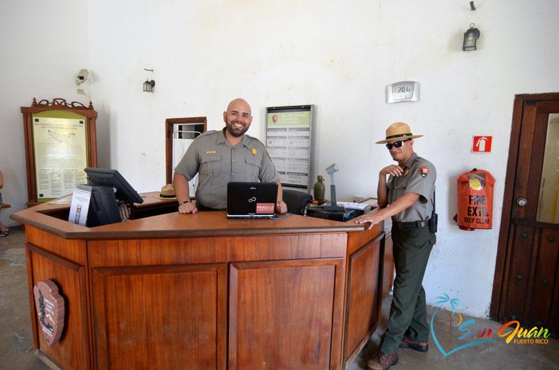 San Cristobal Fortress Park Rangers, Old San Juan, PR