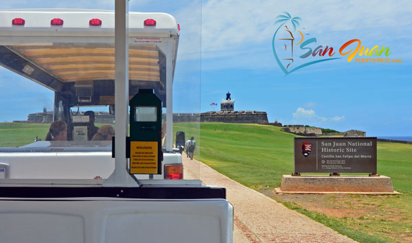 Hop on the Trolley in Old San Juan, Puerto Rico