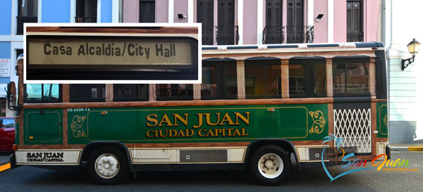 Casa Alcaldia / City Hall Route Free Trolley - Old San Juan, Puerto Rico