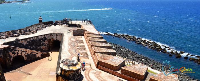 Fortification in San Juan - Castillo San Felipe del Morro