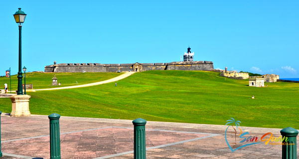 Bicycling to San Juan National Historic Site - San Juan, Puerto Rico