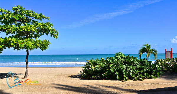 Bicycling Trails in Isla Verde, Carolina, Puerto Rico