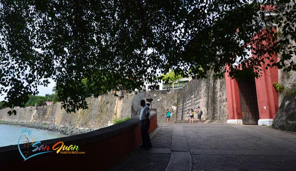 Bicycle Trail - The San Juan Gate - Old San Juan, Puerto Rico