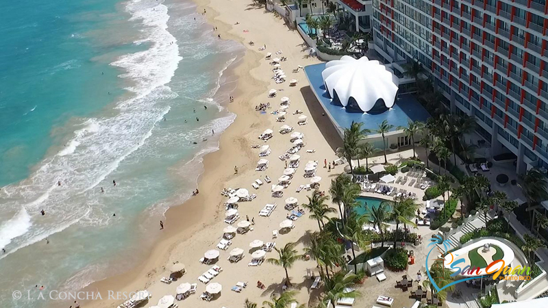 San Juan Puerto Rico Hotels - On the Beach / Beachfront - © La Concha Resort