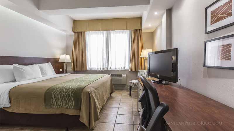 Guest room - Comfort Inn San Juan - Condado, San Juan, Puerto Rico