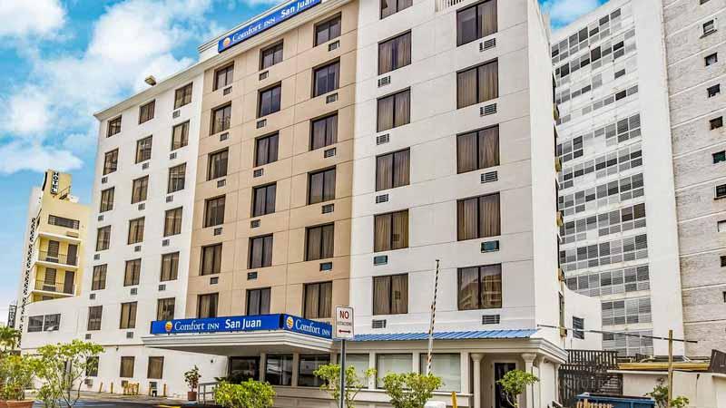 Building - Comfort Inn San Juan - Condado, San Juan, Puerto Rico