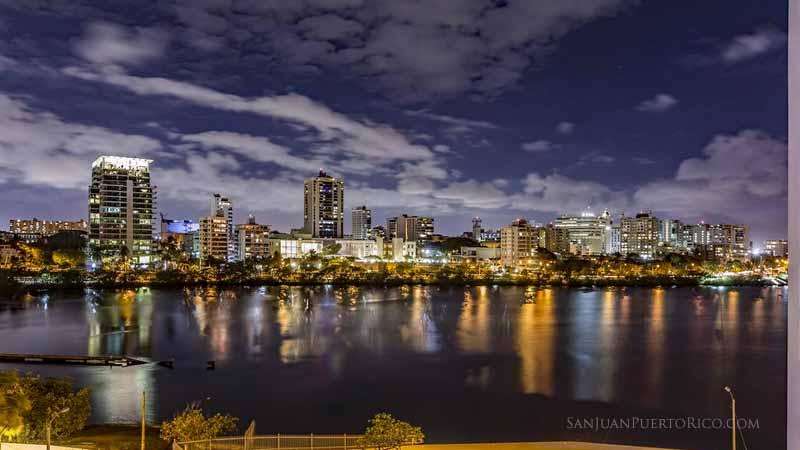 City Night Views - Comfort Inn San Juan - Condado, San Juan, Puerto Rico