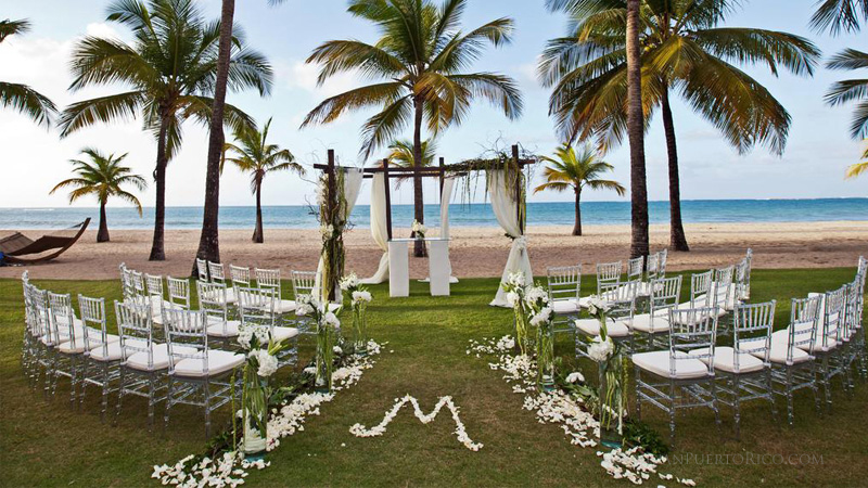 Wedding Venue - Isla Verde, Puerto Rico - On the Beach