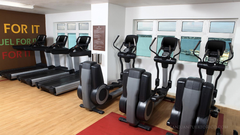 Fitness Center - Sheraton Old San Juan - Puerto Rico