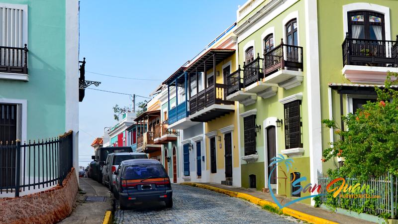 Calle Norzagaray & Calle San Justo - Old San Juan Puerto Rico