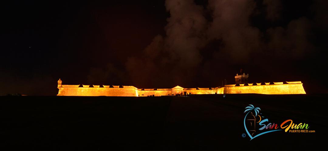 El Morro at Night - Old San Juan, Puerto Rico