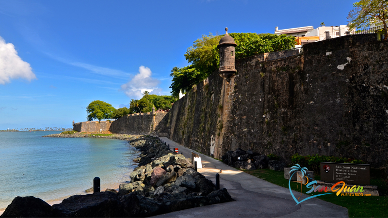 Paseo del Morro - Old San Juan Puerto Rico - Points of Interest