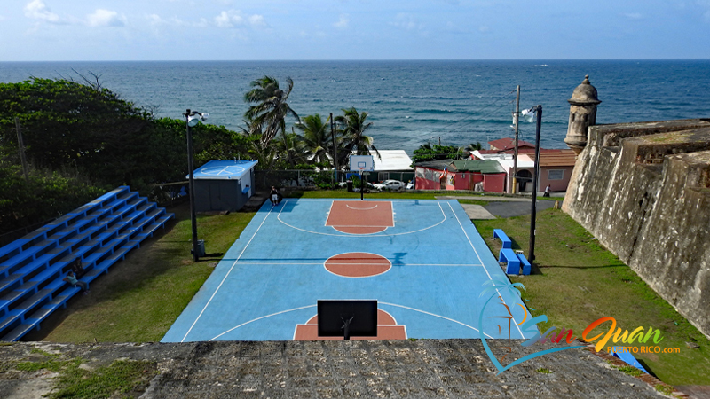 La Perla Basketball Court - Old San Juan, Puerto Rico Walking Tour