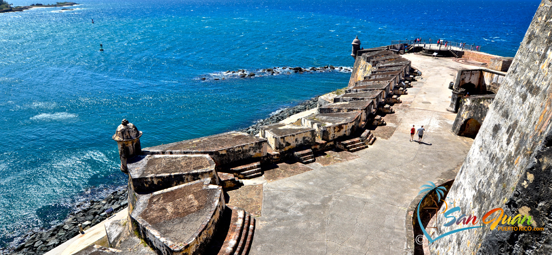San Juan National Historic Site - Points of Interest in Old San Juan, Puerto Rico