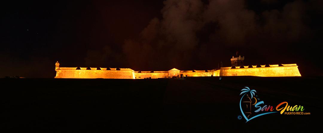 Castillo San Felipe del Morro at Night - San Juan, Puerto Rico