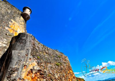 Garita & City Walls - Castillo San Felipe del Morro - San Juan, Puerto Rico