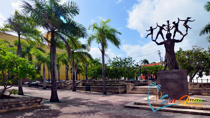 Plaza de la Beneficencia - Old San Juan, Puerto Rico