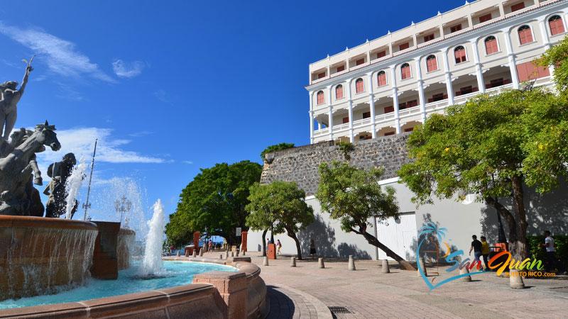 Paseo de la Princesa - Old San Juan Puerto Rico