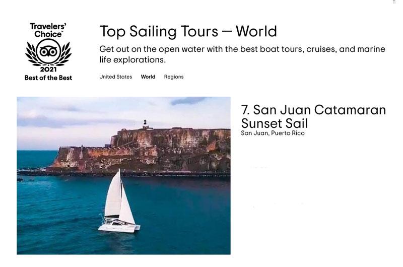 Best Sailing in the World Tours - San Juan Sailing