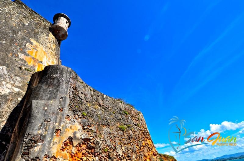 Garita & City Walls - Castillo San Felipe del Morro - San Juan, Puerto Rico - Caribbean