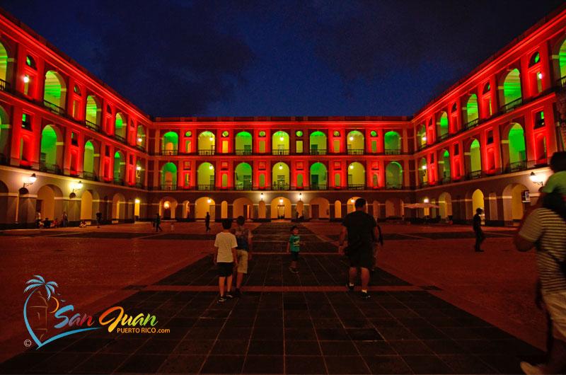 Old San Juan Puerto Rico - A Night during Christmas