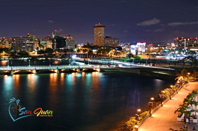 Night Scene - San Juan, Puerto RIco