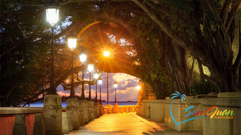 Romantic vacation in San Juan, Puerto Rico