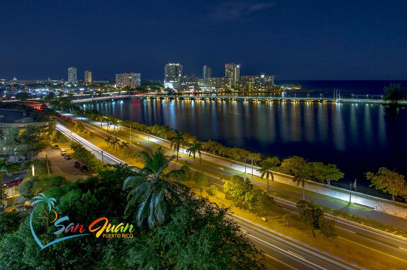 San Juan Puerto Rico at Night