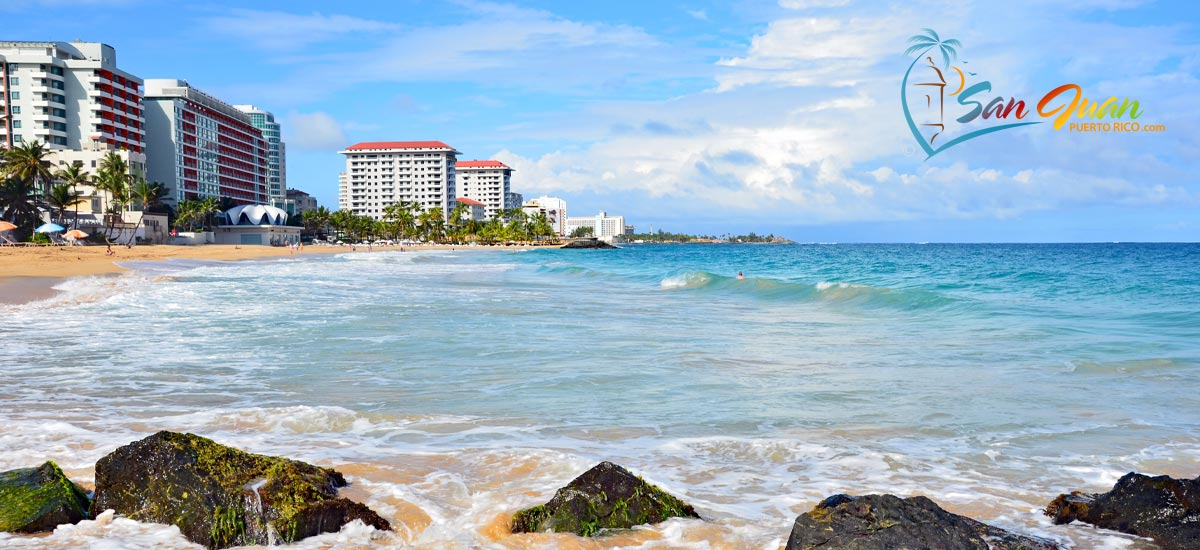 If You Have A Family With Children Be Aware That The Waters Are Not Best For Swimming Nearby Can Enjoy Playita Del Condado Small Beach