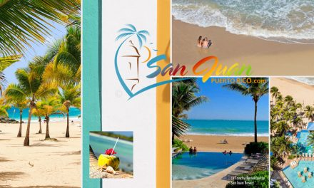 <center>Best Beaches in San Juan Puerto Rico <BR><h3>Beach Guide, Top Rated Tours & Map</h3> </center>