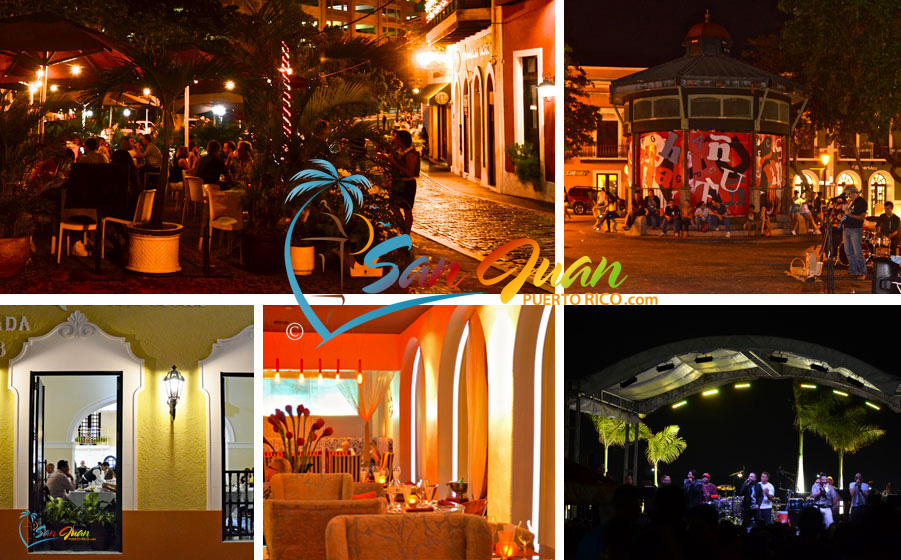 Old San Juan Puerto Rico Nightlife